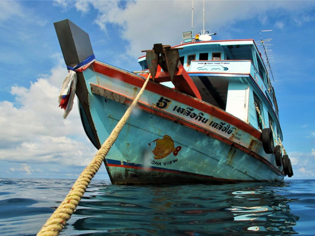 Barca-koh-tao