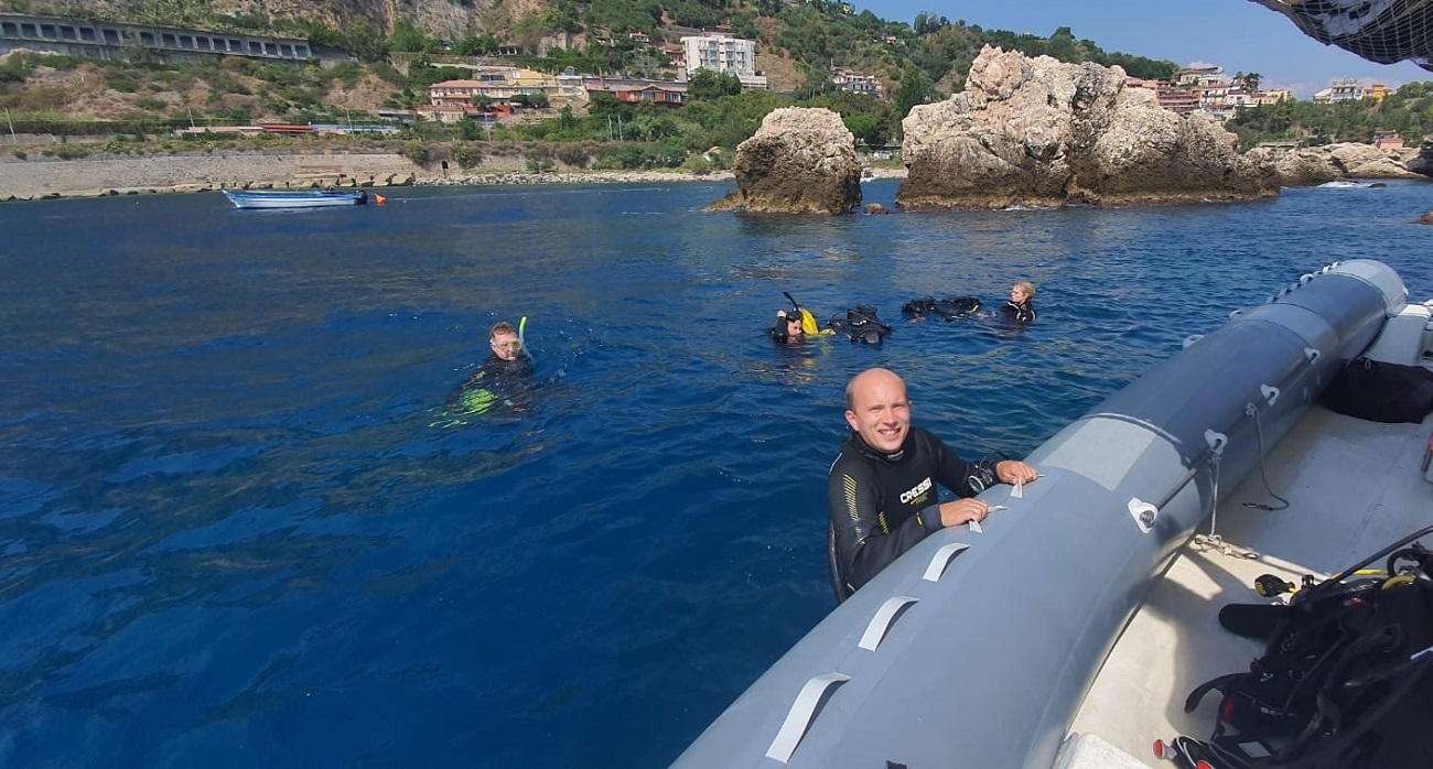 A Story from our PADI IDC Candidate in Sicily – Albert 2020