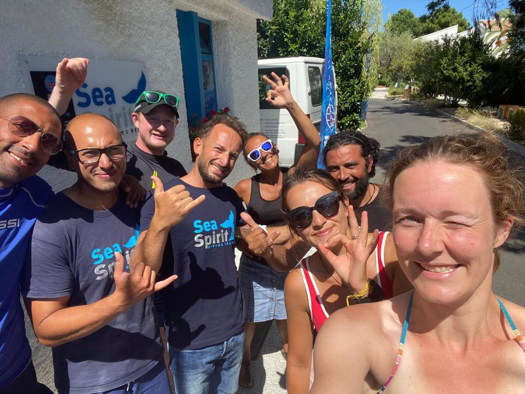Corso Divemaster PADI con Sea Spirit Diving Academy a Taormina Sicilia