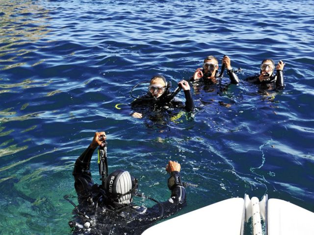 PADI Open Water Diver Course Open Water Session